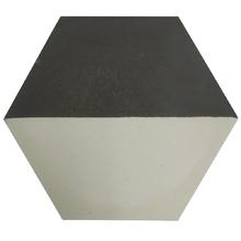 Ladrilho Hidráulico Decorativo Hexagonal Chumbo 20x20cm Cimartex