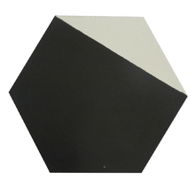 Ladrilho Hidráulico Decorativo Hexagonal Preto 20x20cm Cimartex