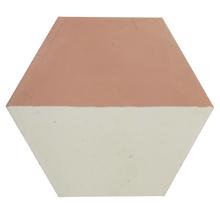 Ladrilho Hidráulico Decorativo Hexagonal Rosa 20x20cm Cimartex