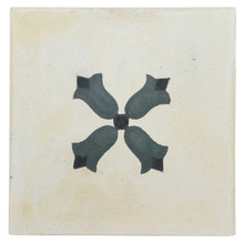 Ladrilho Hidráulico Gerânio 20x20x1,9cm Cimartex