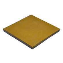 Ladrilho Hidráulico Liso Amarelo 20x20x1,9cm Cimartex