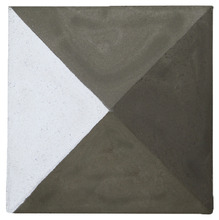 Ladrilho Hidráulico Pirâmide 20x20x1,9cm Cimartex