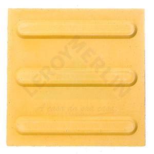 Ladrilho Hidráulico Podotátil de Direção Amarelo 20X20cm Art Cores