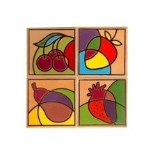 Lajota Frutas  35x35cm Fênix
