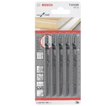 Lâminas com 5 peças T-T C.Limpo Mad 3-30mm T101Br Bosch