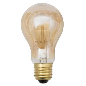 Lâmpada Filamento de Carbono Lexman Bulbo 40 Amarelo 250V (220V)