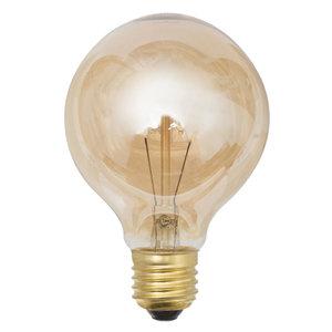 Lâmpada Filamento de Carbono Lexman Globo 40 Amarelo 127V (110V)