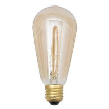 Lâmpada Filamento de Carbono Lexman Pêra 40 Amarelo 250V (220V)