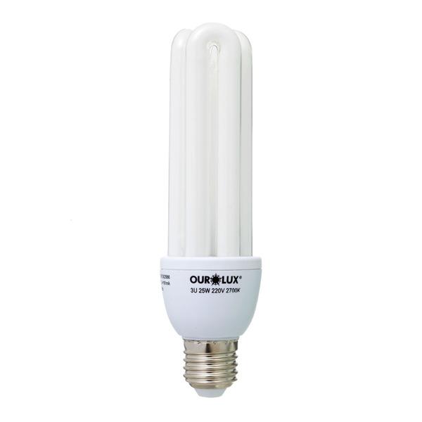 Lâmpada Ourolux Eletrônica 3u 25w 2700 220v - 04541