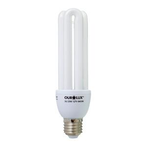 Lâmpada Fluorescente Ourolux 3U 25W Branca 127V (110V)