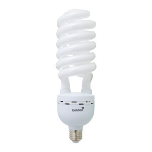 Lâmpada Fluorescente Golden Alta Potência Espiral 59W Branca 250V (220V)