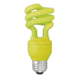 Lâmpada Fluorescente Kian Espiral 26W Amarelo 250V (220V)