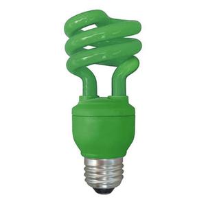 Lâmpada Fluorescente Kian Espiral 26W Verde 250V (220V)