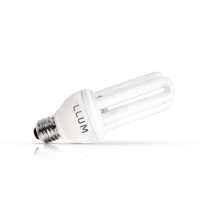 Lâmpada Fluorescente LLUM 3U 11W Amarela 250V (220V)