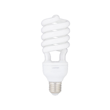 Lâmpada Fluorescente Espiral Luz Amarela 20W Lexman 220V