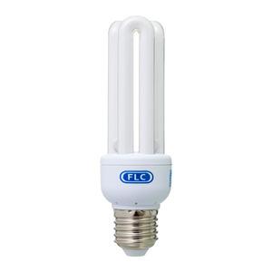 Lâmpada Fluorescente FLC Mini 3U 15W Amarela 127V (110V)