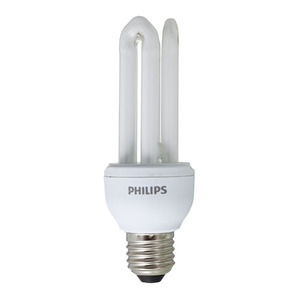 Lâmpada Fluorescente Philips Mini 3U 18W Branca 127V (110V)