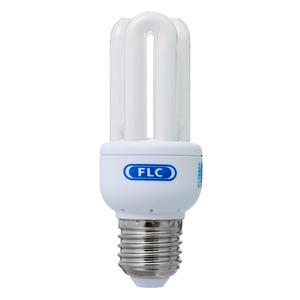 Lâmpada Fluorescente FLC Mini 3U 9W Amarela 127V (110V)