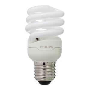 Lâmpada Fluorescente Philips Mini Espiral 12W Amarela 127V (110V)