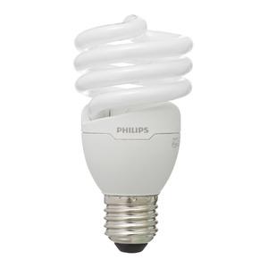Lâmpada Fluorescente Philips Mini Espiral 18W Amarela 127V (110V)