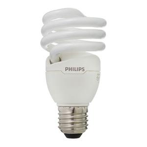 Lâmpada Fluorescente Philips Mini Espiral 20W Amarela 250V (220V)