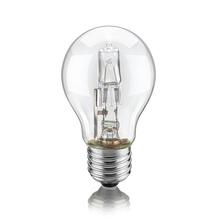 Lâmpada Halógena Bulbo Luz Amarela 72W Elgin 127V (110V)