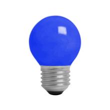 Lâmpada Incandescente Bolinha Luz Azul 15W 127V (110V) Kian