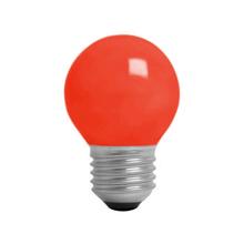Lâmpada Incandescente Bolinha Luz Vermelho 15W 127V (110V) Kian