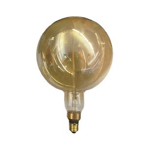 Lâmpada Incandescente de Filamento Globo Gigante Luz Amarela 40W 220V Luz Sollar