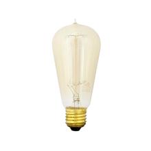 Lâmpada Incandescente de Filamento Pêra Luz Amarela 40W Kian 127V (110V)