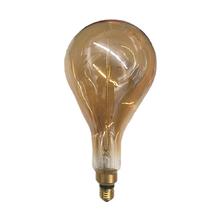 Lâmpada Incandescente de Filamento Pêra Gigante Luz Amarela 40W 250V (220V) Luz Sollar