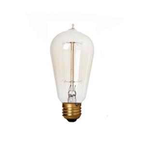 Lâmpada Incandescente de Filamento Pêra Luz Amarela 40W Kian