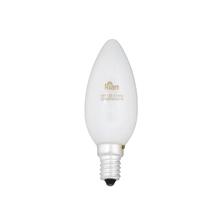 Lâmpada Incandescente Vela Luz Amarela 25W Kian 127V (110V)