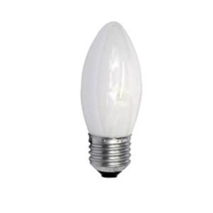 Lâmpada Incandescente Osram Vela 25W Luz Amarela Aconchegante (2700K) 127V (110V)