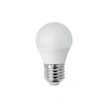 Lâmpada LED Bolinha Luz Amarela 6W Bivolt Luminatti