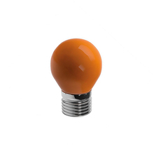 Lâmpada LED Bolinha Luz Âmbar 6W Bivolt Luminatti