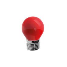 Lâmpada LED Bolinha Luz Vermelha 6W Bivolt Luminatti