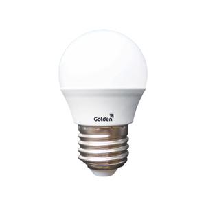 Lâmpada LED Certificada Golden Bolinha 4,5W E27 Luz Amarela 470lm Bivolt