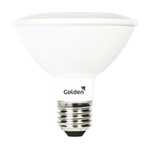 Lâmpada LED Certificada Golden PAR30 11W E27 11W Luz Branca 1410lm Bivolt