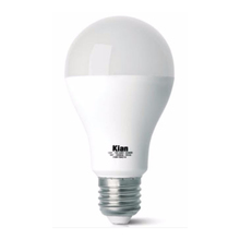 Lâmpada LED Certificada Kian Bulbo 9W Amarelo Bivolt