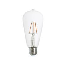 Lâmpada LED de Filamento Pêra Luz Âmbar 4W Uniled Bivolt