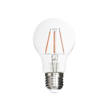 Lâmpada LED de Filamento Bulbo Luz Âmbar 4W Uniled Bivolt