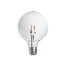 Lâmpada LED de Filamento Globo Luz Âmbar 4W Uniled Bivolt