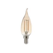 Lâmpada LED de Filamento Vela Chama Luz Âmbar 2W 127V (110V) Avant