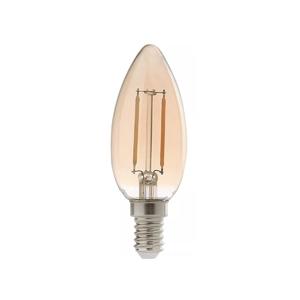 Lâmpada LED de Filamento Vela Luz Âmbar 2W 127V (110V) Avant