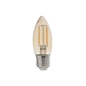 Lâmpada LED de Filamento Vela Luz Âmbar 2W Bivolt Avant