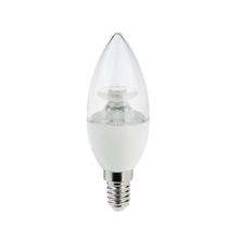 Lâmpada LED Dimerizável Vela Luz Amarela 4,3W Luminatti Bivolt