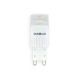 Lâmpada LED Dimerizável Luz Branca 3W Ourolux 127V (110V)