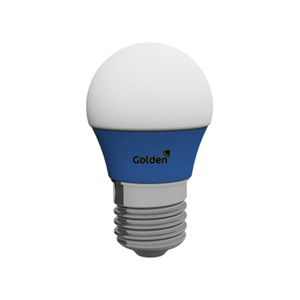 Lâmpada LED Golden Bolinha 3W Azul Bivolt
