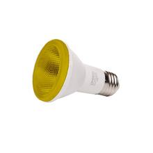 Lâmpada LED Luminatti PAR20 6W Amarelo Bivolt